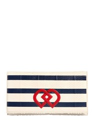 Dsquared Dd Striped Ayers Clutch