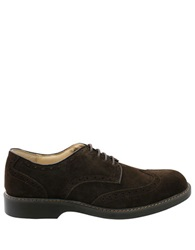 Bass Pembroke Suede Wingtip Oxfords Dark Brown
