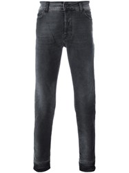 Marcelo Burlon County Of Milan Slim Fit Jeans Grey