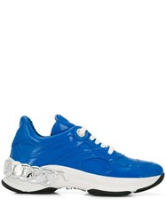 Casadei Chunky Sneakers Blue
