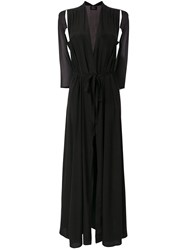 Lost And Found Ria Dunn Cut Out Sleeves Dress Black