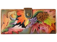Anuschka 1071 Fall Fiesta Checkbook Wallet Multi