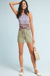 Cloth And Stone Drawstring Shorts Moss