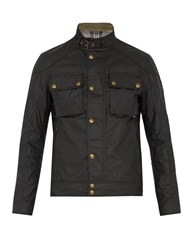 Belstaff Racemaster Waxed Cotton Jacket Black
