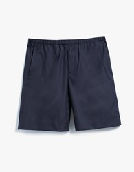 Acne Studios Ari Pop Shorts Navy