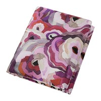 Roberto Cavalli Caleidoflora Silk Throw 130X180cm Rose