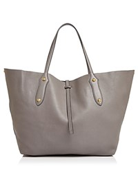 Annabel Ingall Isabella Large Leather Tote Slate Gold