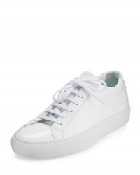 Common Projects Achilles Patent Leather Sneaker White