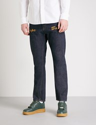 A Bathing Ape 1999 Type 02 Regular Fit Tapered Jeans Indigo