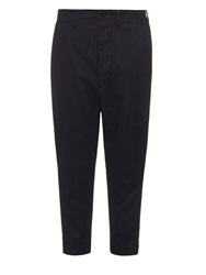 Nlst Low Rise Wool Blend Officers Trousers