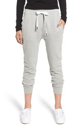 Stateside French Terry Joggers Heather Grey
