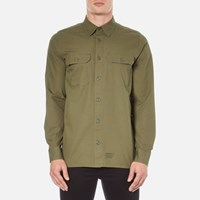 Carhartt Men's Long Sleeve Mission Shirt Rover Green