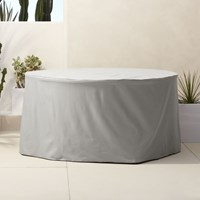 Cb2 Artemis Round Dining Table Cover