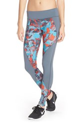 Women's Pink Lotus 'Run The Street' Print Leggings