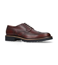 Dries Van Noten Commando Derby Shoes Beige