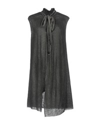 Lost And Found Short Dresses Grey