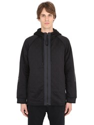 Adidas Originals Day One Hooded Zip Up Quilted Sweatshirt