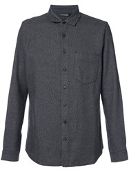 Wings Horns And H Officer Shirt Cotton M Grey
