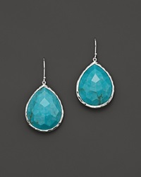 Ippolita Large Single Teardrop Earring In Turquoise No Color