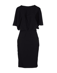 Strenesse Gabriele Strehle Knee Length Dresses Black