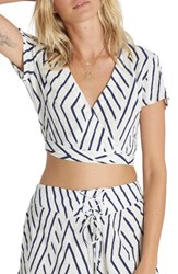 Billabong Women's That's A Wrap Woven Crop Top