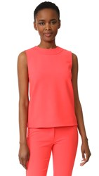 Victoria Beckham Sleeveless Top Hot Coral