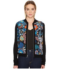 Paul Smith Floral Print Cardigan Multi Women's Sweater