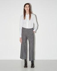 Maison Martin Margiela Tweed Trouser Grey Black