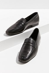 Urban Outfitters Uo Leather Loafer Black