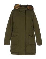 Geox Coats And Jackets Jackets Military Green