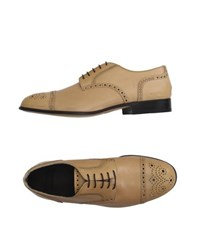 Raparo Footwear Lace Up Shoes Men Sand