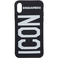 Dsquared2 Black 'Icon' Iphone X Case