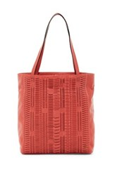 Elliott Lucca All Day Leather Tote Pink