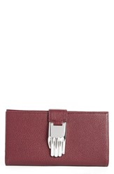 Women's Opening Ceremony 'Misha' Pebbled Leather Wallet
