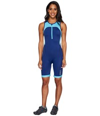 2Xu Active Trisuit Blue Atoll Navy Women's Race Suits One Piece