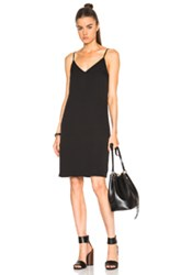 Blk Dnm Dress 36 In Black