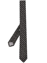 Dsquared2 Embroidered Logo Tie 60