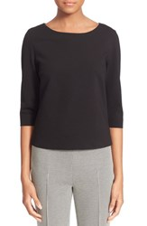 Women's Akris Punto Mesh Peplum Top