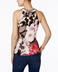 Inc International Concepts Floral Print Halter Top Only At Macy's Autumn Blossom
