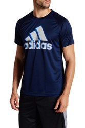 Adidas Base Logo Tee Blue