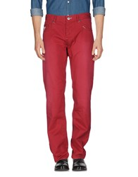 Guess Jeans Casual Pants Red