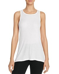 Yummie Tummie By Heather Thomson Racer Tank White