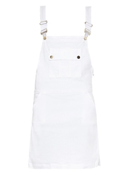Frame Denim Le Apron Overall Denim Dress