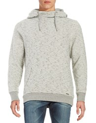 Guess Hooded Knit Pullover Grey