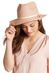 14Th And Union Two Tone Panama Hat Brown