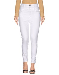Denny Rose Casual Pants White