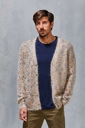Oxford Lads Cardigan Taupe