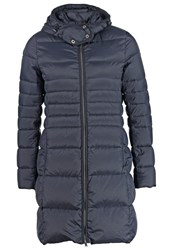 Opus Hally Down Coat Cosmic Blue Dark Blue