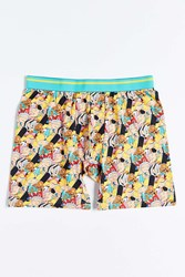 Urban Outfitters Hey Arnold Cast Boxer Brief Black Multi