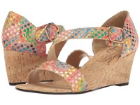 Vaneli Marise Multi Spiral Cork Women's Wedge Shoes